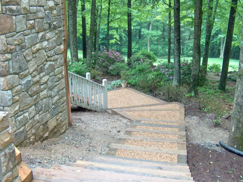 Exterior Stairs After