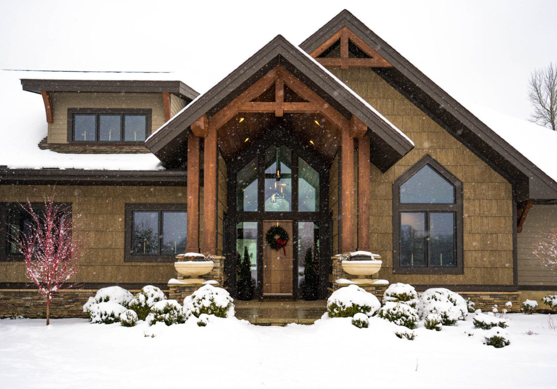 Home Entry - Mountain Modern Ridge - 4 Forty Four - PS108889